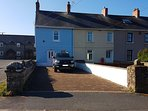 Our lovely house with ample parking for at least 2 cars, the beach is just 200 yards away from here.
