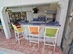 Built in Kitchen in Lanai