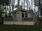 Laburnum Lodge with Hot Tub in Prime Location Next To Fishing Lake
