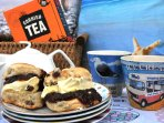 On arrival, you will find a complimentary Cornish Cream Tea awaiting you and your party. Enjoy!