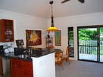 Looking from the kitchen toward the Lanai