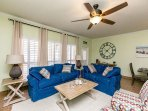 3BR, 2BA North Padre Condo with Private Patio, Short Stroll to the Beach