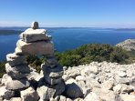 Only 4 km from the house, great hiking and trekking spot. A view on zadar archipelago