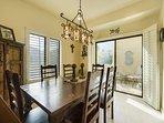 Dining & Balcony Access