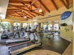 Stay fit in the fitness center!