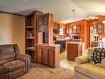 Situated on 5 quiet acres just outside of town, this home offers modern amenities and 1,150 square feet of relaxing...