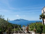view of capri by living room