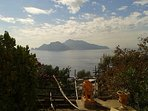 View of Capri by the house