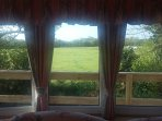View of the fields from your sitting room window