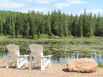 Private 6 acre beaver pond