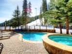 Year Round Outdoor Pool - Take a dip in the year round outdoor swimming pool and hot tub at Lone Eagle.