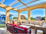 Located Across From Beach - Take In The Gulf Views From The 3rd Floor Lounge Area