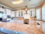 Newly Renovated Kitchen Feat. Stainless Steel Appliances and Breakfast Bar
