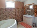 sdb baignoire et double vasque