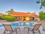 Look forward to a private pool, beautiful backyard and unobstructed views of McDowell Mountain from this splendid...