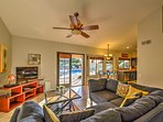 The spacious home offers 2,000 square feet of well-appointed living space.