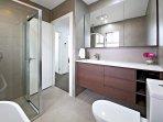 Main Bathroom with Shower Enclosure and Bath Tub