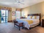 Master Bedroom - oceanfront w/Balcony Access