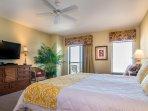 Master Bedroom (oceanfront w/balcony access)