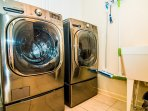 Full size Stainless Front Loading washer/dryer