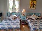 Zona dormitorio Ático