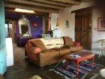 living room . . .