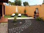 jardin privado trasero 100m