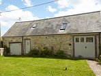 The Barn, formally a cow barn, now a lovely holiday home. Isle of Wight Conservation Award.