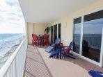 Huge Balcony - it is your extra outdoor room