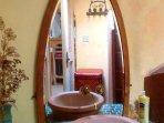 the wonderful bathroom. . .