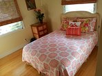 Queen bed. Newly decorated. Bamboo flooring. Two windows that brings in plenty of light.