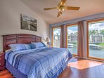 Sprawl out on the king-sized bed in the master bedroom and admire the views from the balcony.