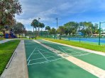 Take a short walk to this community area, full of tennis courts, a basketball court, a playground and shuffleboard!