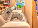 Washer and dryer is ready for your use.