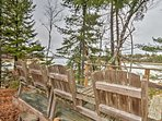 Take in scenic views from the property's 'idyllic point' lookout sitting area!