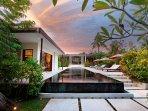15 meters private pool
