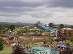 Crealy park is just a 10 minute drive - awesome adventure park with everything!
