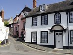 Topsham is famous for its dutch architecture