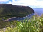 Halawa Valley; 12 miles from condo -hike to waterfall