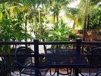 master balcony overlooking pool