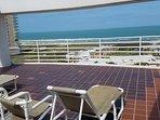 The 7th floor sun deck.