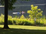 Music Hall Cottage - Lakefront Cottages on Semi-private Lake, Beach, Boats, Fun!