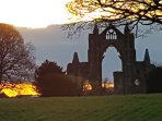 Guisborough Priory is only a short walk from the cottage.