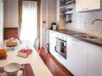 cucina abitabile e attrezzata di ogni confort