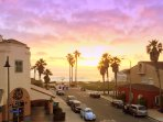 Enjoy Spectacular Sunsets in your beach view vacation home - it will become an evening ritual!