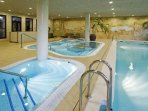 Indoor Pools and Jacuzzi Bath