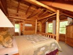 Master King Size Suite with Private Bath and Walk-In Closet