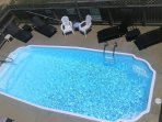 Large Private Swimming Pool with Option to Heat