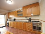 Kitchen: Modern appliances, granite counters, beechwood finishings, fully equipped