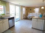 Open kitchen / dining - 61 Kelley Road West Harwich Cape Cod New England Vacation Rentals